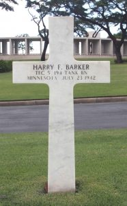 Barker H Cross