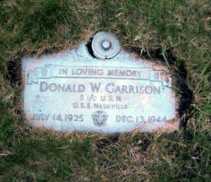 Garrison Grave