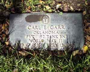 , Garr, Pvt. Carl E., Bataan Project 2.0