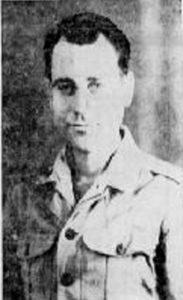 2nd Lt. Frank E. Riley - POW Photo