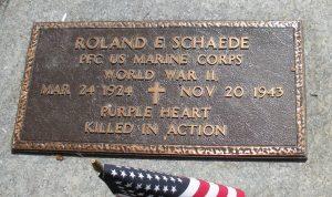 Schaede, PFC Roland E. 3 - Bataan Project