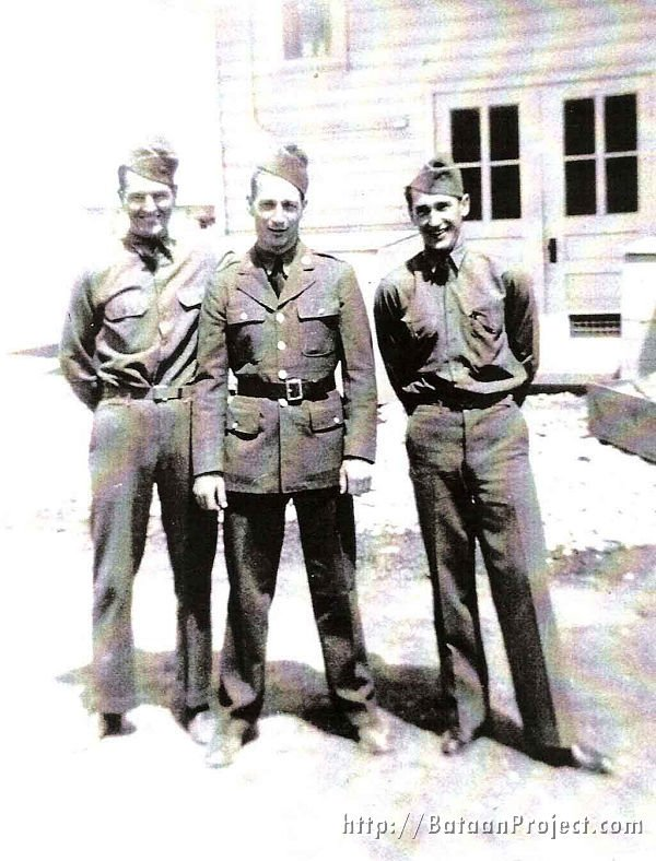 Pvt. Robert Miller, Pvt. Lyle Eesley and Cpl. Howard Stickel