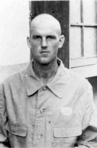 Sgt. Owen Leonard Sandmire - POW Photo