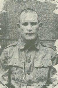 Pvt. Albert Keith Walker - POW Photo
